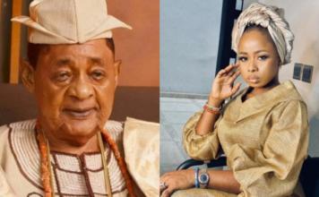 ALafin of Oyo and wife Badirat Ajoke