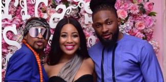 Erica, Denrele Edun and Uti Nwachukwu