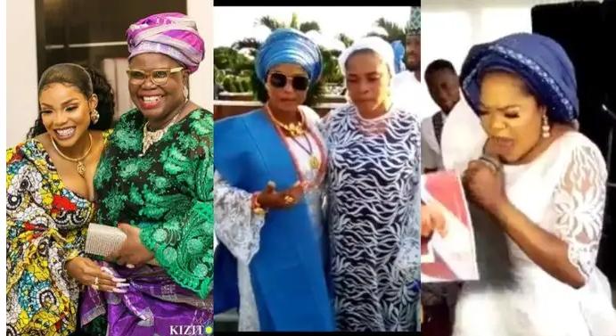 Iyabo Ojo's mum burial