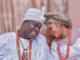 Ooni of Ife and wife