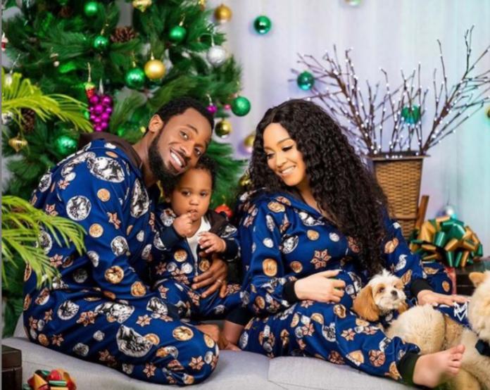Dbanj Christmas photo