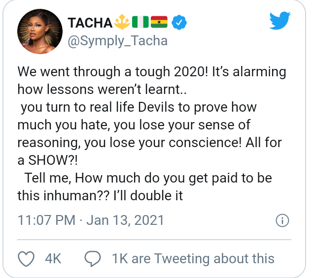 """""""How much do you get paid to be this inhuman?"""" - Tacha ..."""