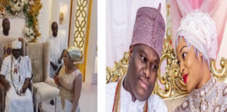 Ooni of Ife and wife Naomi