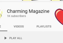 charming Magazine YouTube