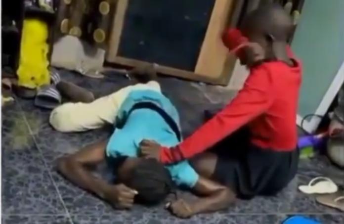 Jumoke's mother cries
