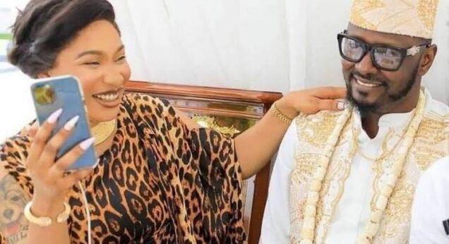 Tonto Dikeh makes shocking revelation about ex-boyfriend, Prince Kpokpogri