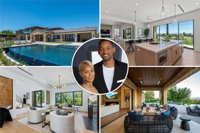 CHECK OUT Will and Jada Smith's new $11.3M love nest (Photos)