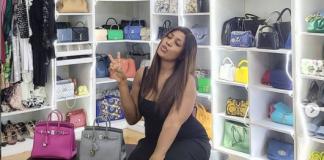 Linda Ikeji bags