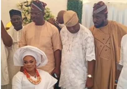 Mercy Aigbe's ex-husband, Lanre Gentry weds again