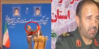 VIDEO: Moment Iranian Governor Got Slapped During Public Speech
