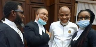 IPOB Leader Kanu Pleads Not Guilty To FG's Amended Charge