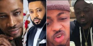7 Nigerian Male Celebrities Who Bleached Their Skin; See Before and After Photos
