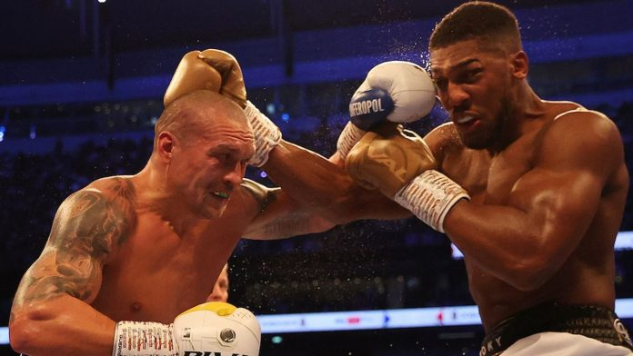 Anthony Joshua's rematch with Usyk officially confirmed